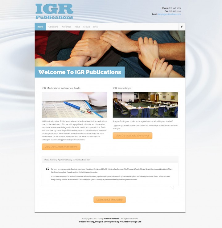 IGR Publications