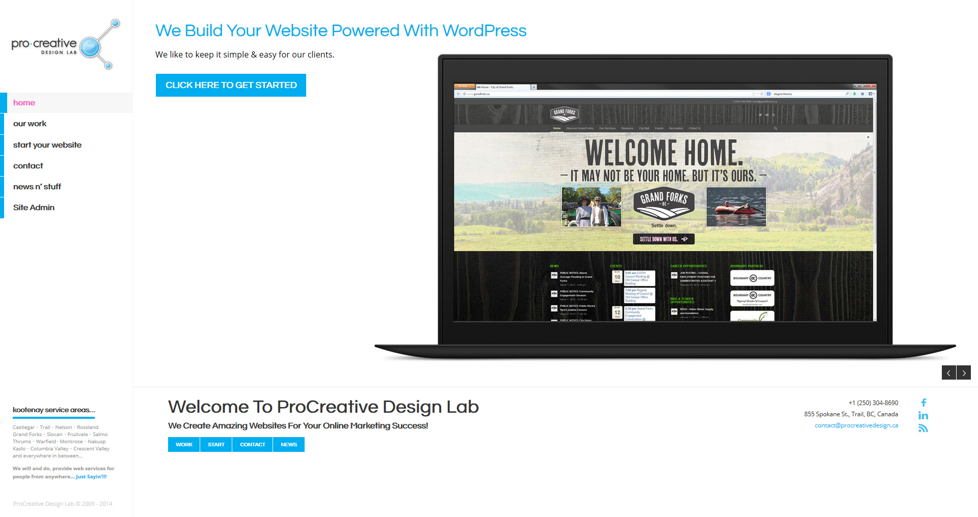New ProCreative Labs Website