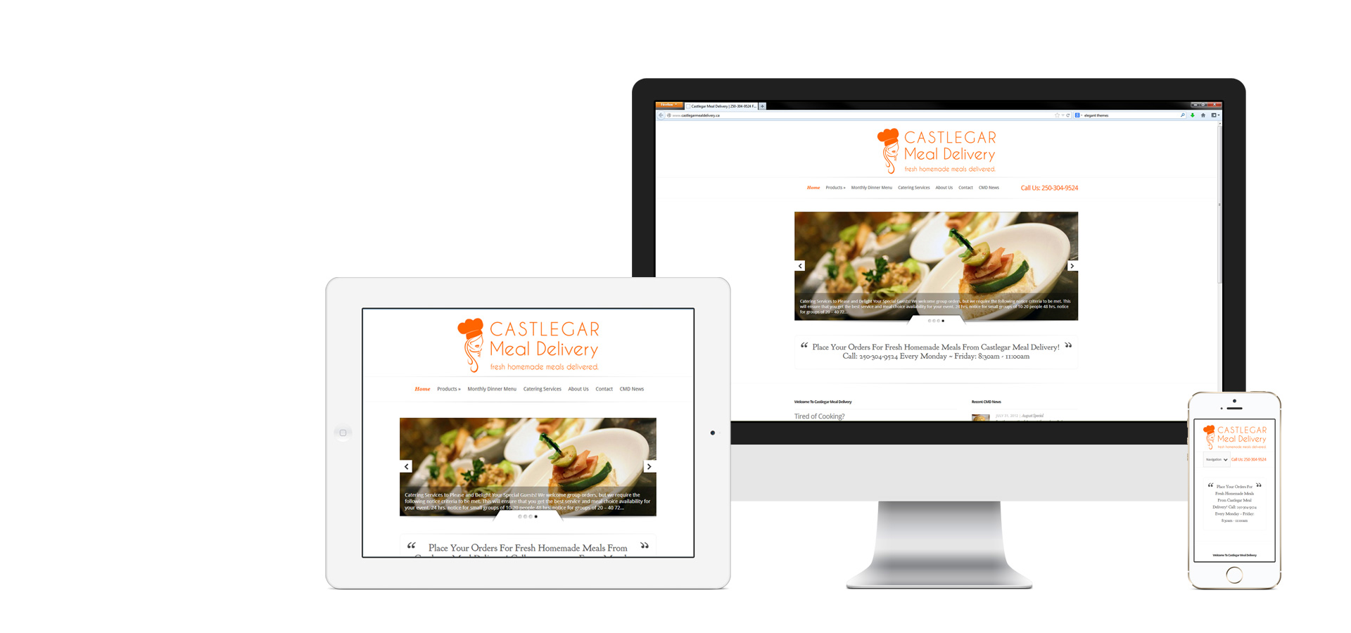 Websites Built With Responsive Design That Work On All Devices!